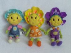 Adorable My 1st Set of 'Fifi & the Flowertots' Plush Toys